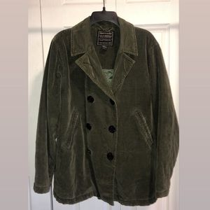 Abercrombie Button Up Coat
